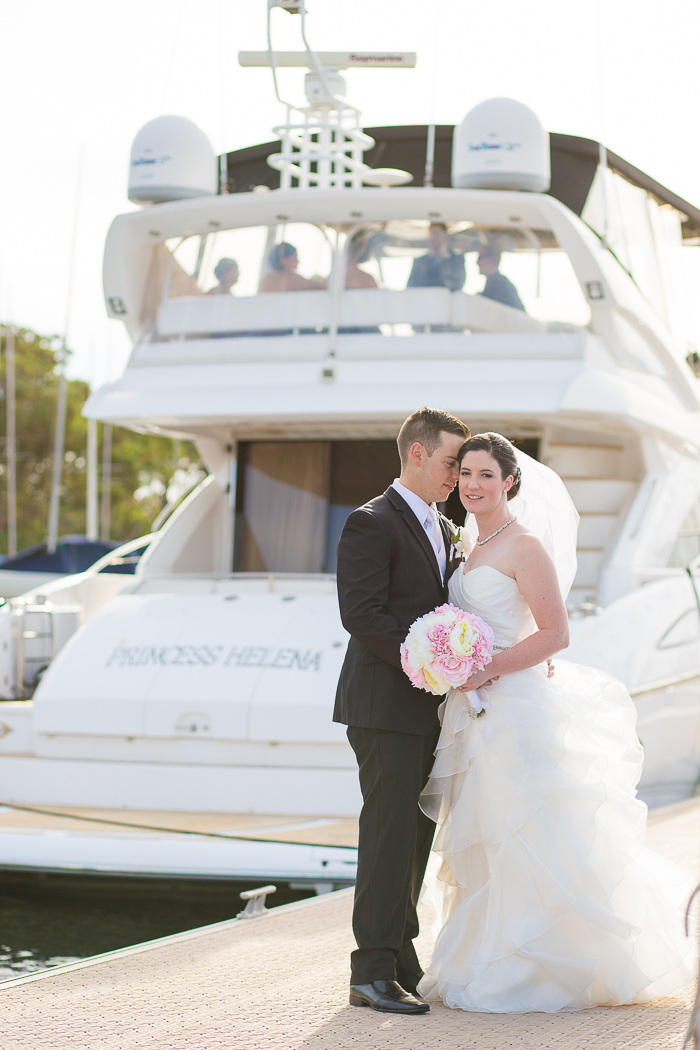 wedding at royal perth yacht club