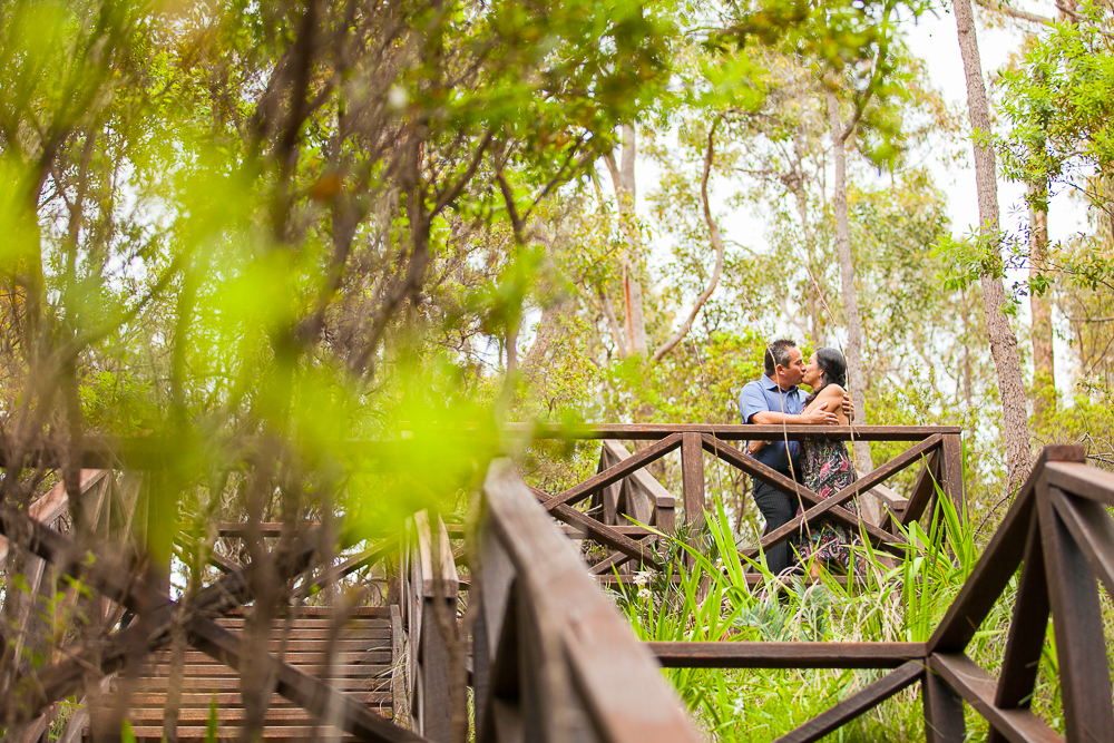 pre-wedding at araluen botanic park