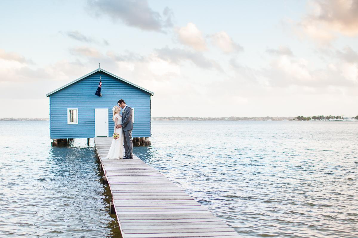 blue boathouse perth wedding