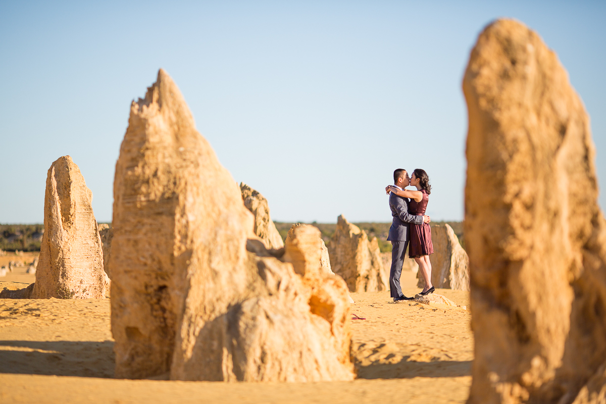 pinnacles perth prewedding shoot
