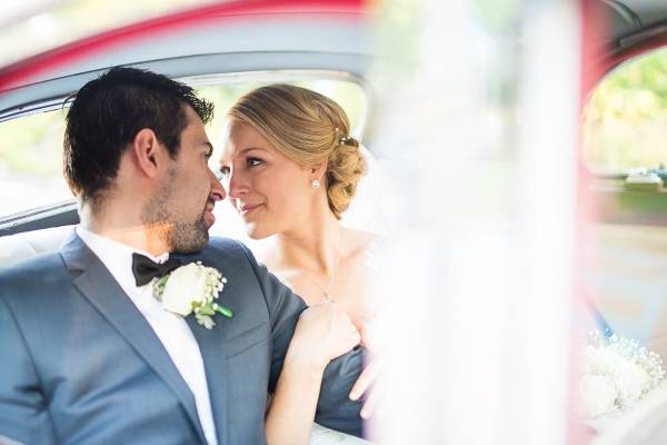inside bridal car wedding photographer perth