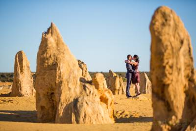 pinnacles nambung national park pre-wedding