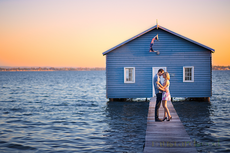 blue boathouse pre-wedding