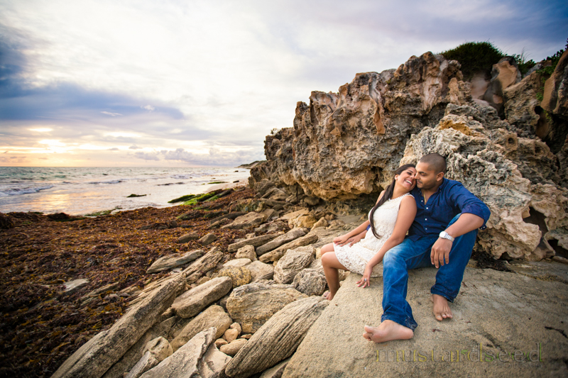 burns beach pre-wedding