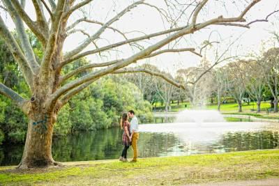 hyde park pre-wedding