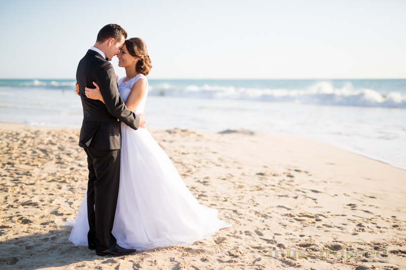 city beach wedding