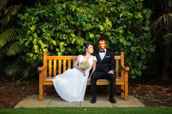 iron man wedding