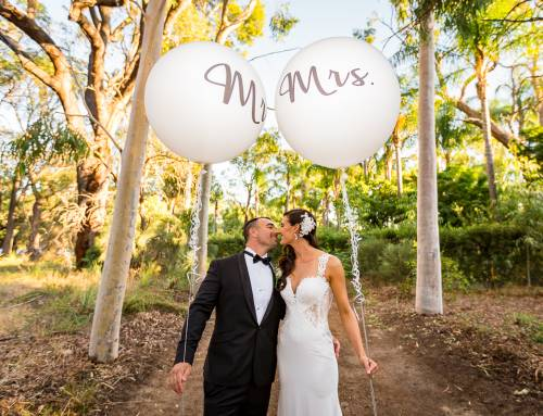 Ben and Bec's Crown Towers Perth and Home Wedding