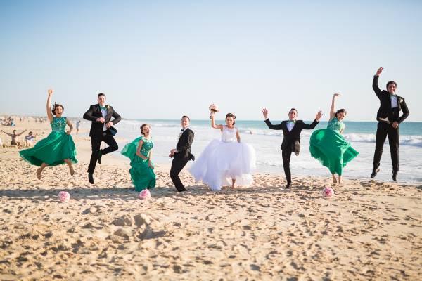 city beach wedding