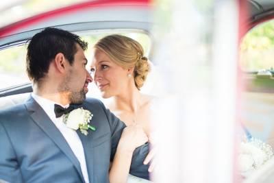 inside bridal car wedding photographer perth