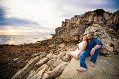 burns beach pre-wedding