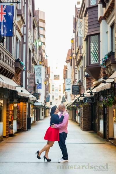 perth city pre-wedding