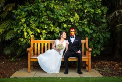 iron man wedding